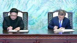 Les deux Corées s'engagent pour la dénucléarisation lors d'un sommet