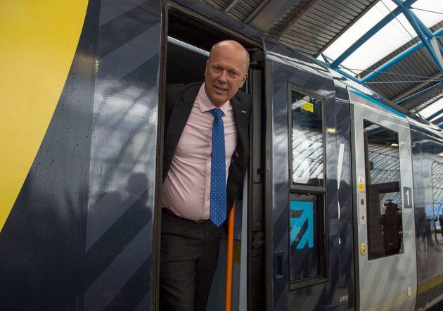 Transport Secretary Chris