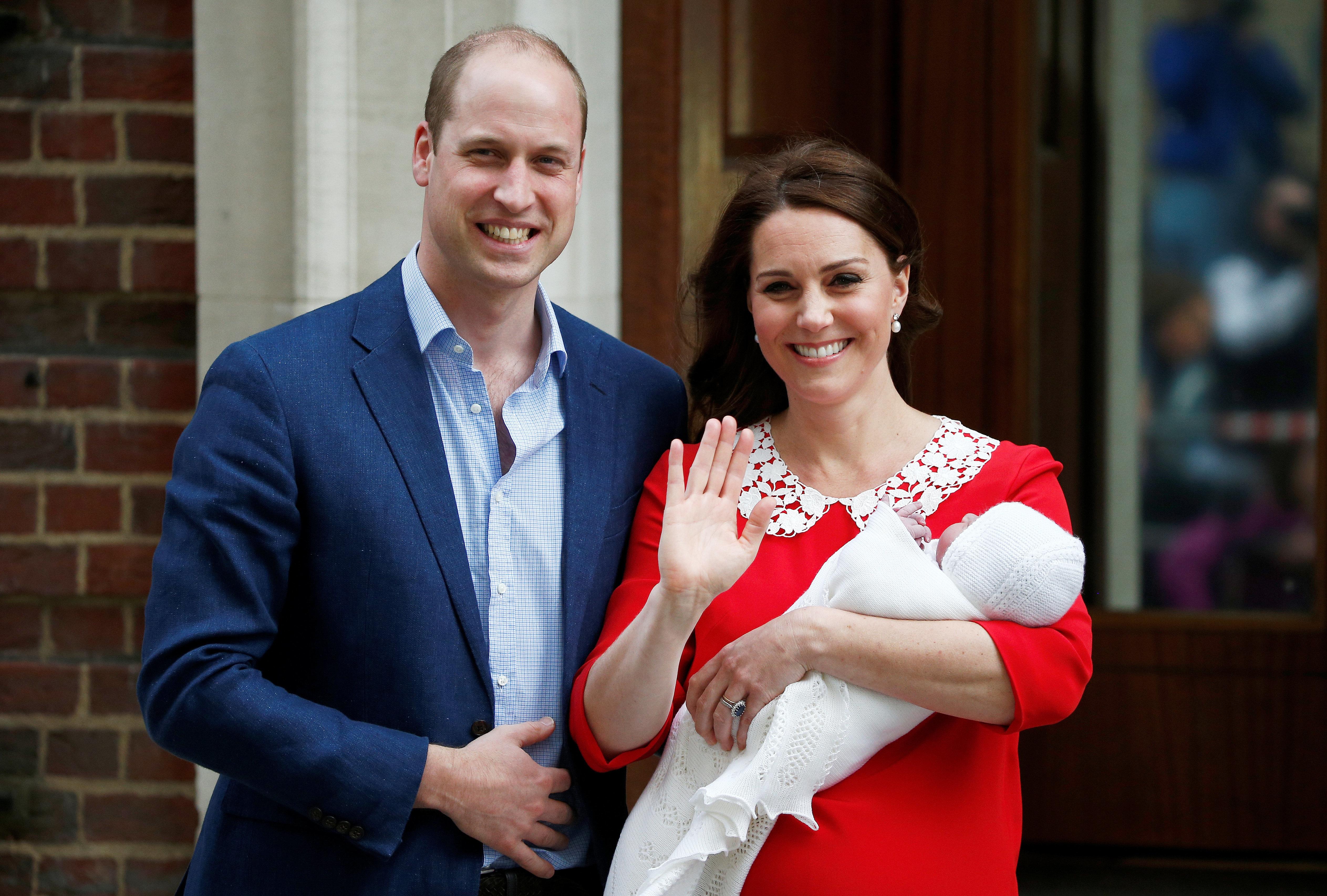 영국 윌리엄 왕세손 셋째 아이의 이름이