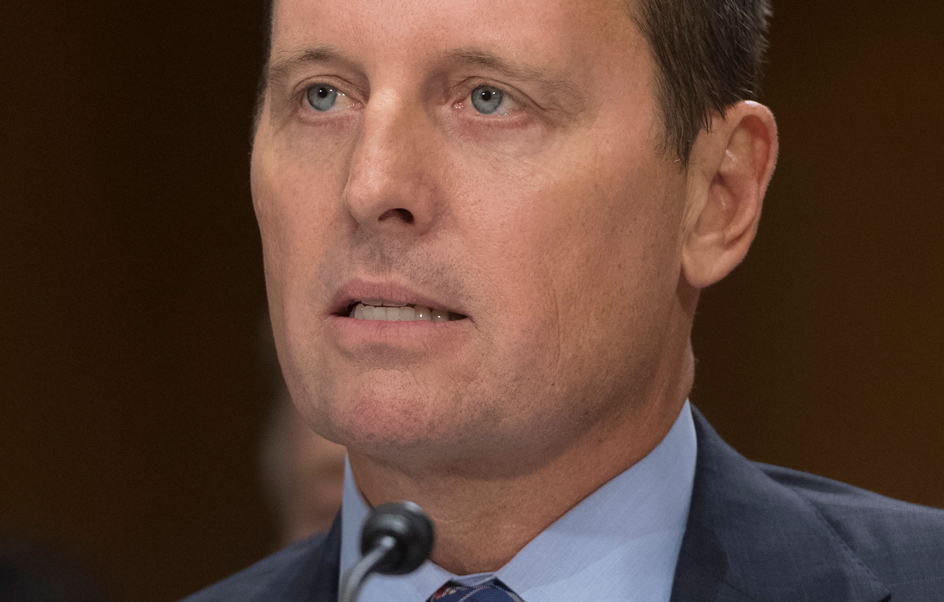 The Senate voted 56-42 to confirm Richard Grenell, largely along party lines, filling a position that had been vacant since J