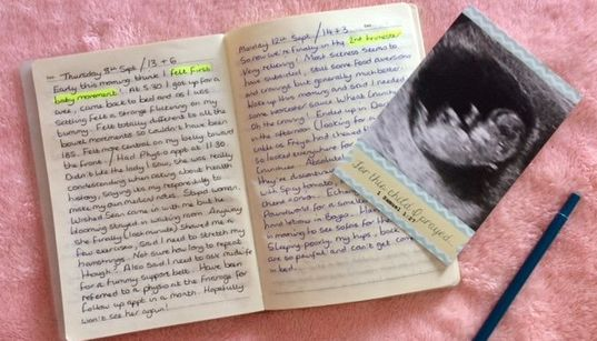 How To Start A Pregnancy Journal, Advice From Women Who Treasure