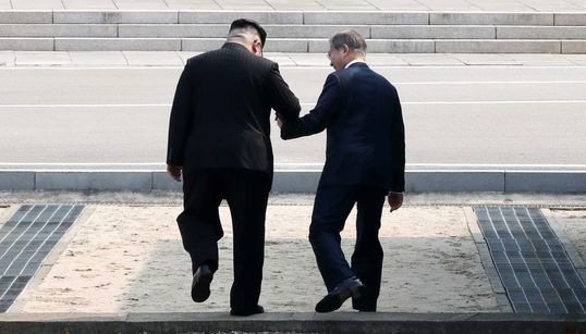 These Photos From The North And South Korea Summit Show History In The