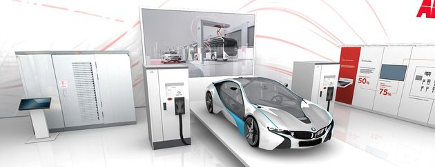 World's Fastest Charger For Electric Cars Provides 120-Miles In Eight