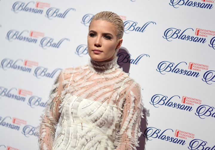 Halsey attends the Endometriosis Foundation of America's 9th Annual Blossom Ball on March 19 in New York City