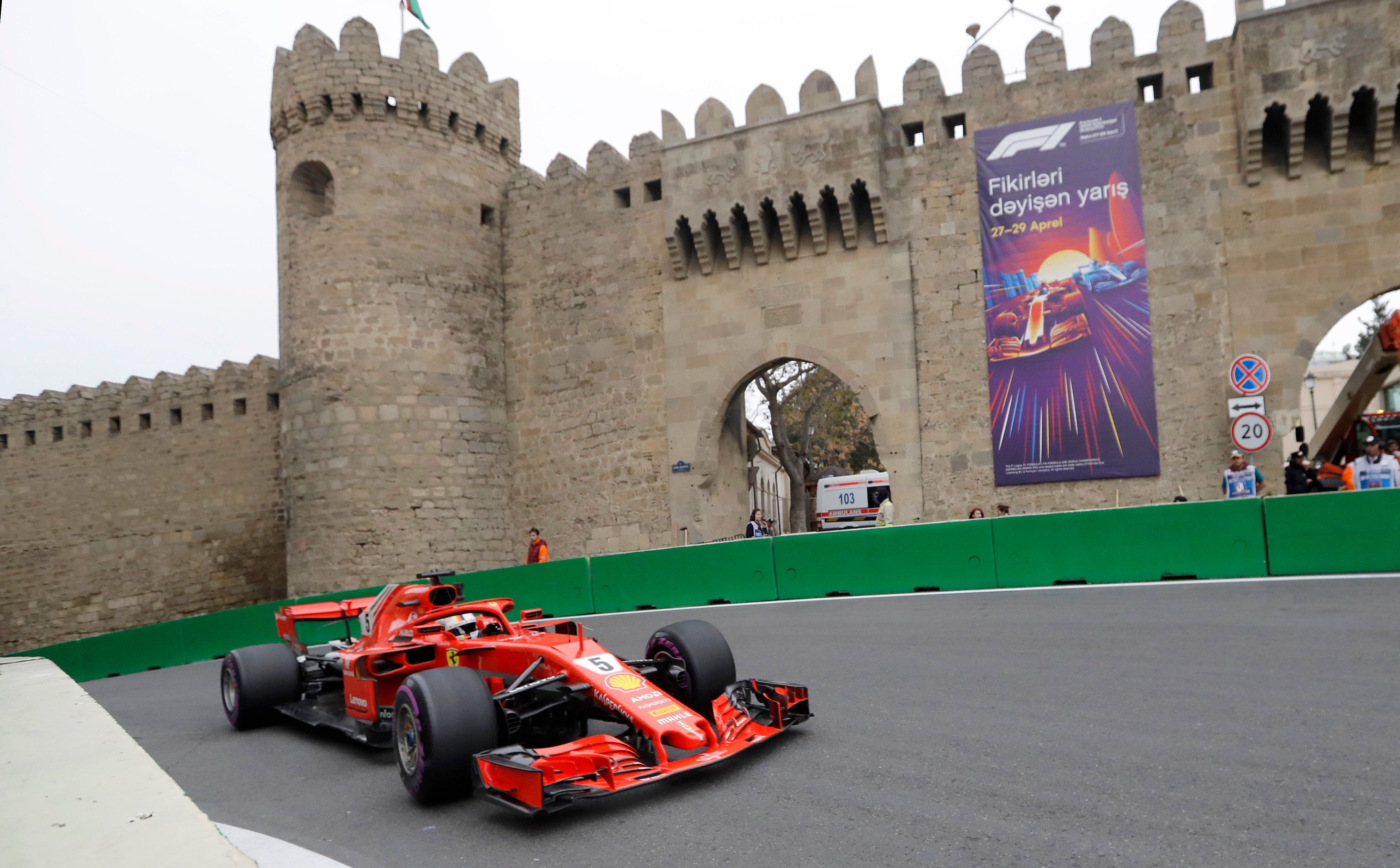 Formel 1 im Live-Stream: Großen Preis von Aserbaidschan online