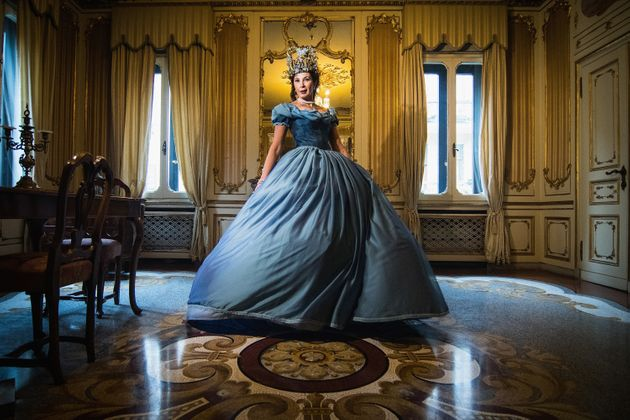 Cinderella's Fairy Godmother's Ball Gown Is The Epitome Of Fast