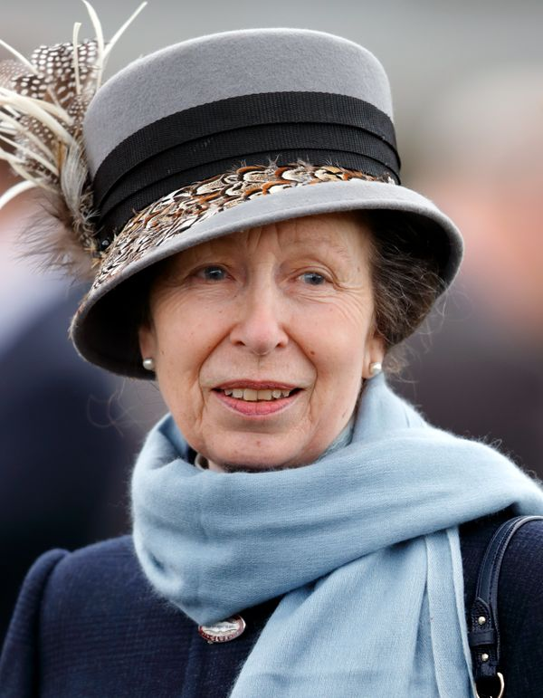 Anne, the queen's only daughter, is behind her three brothers and their families. She is in the 13th spot.