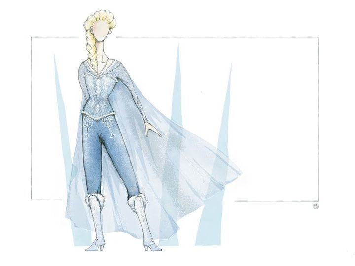 "The new ""Monster"" costume is a ""type of armor that's also feminine"" and a nod to Joan of Arc, director Michael Grandage"