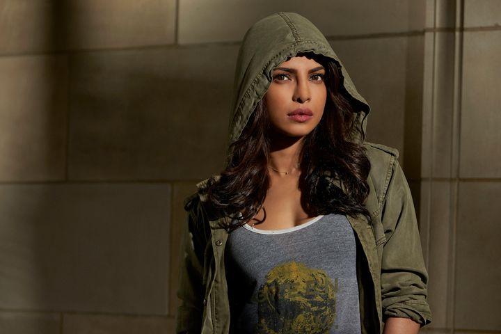 "Priyanka Chopra stars as Alex Parrish in ""Quantico."""