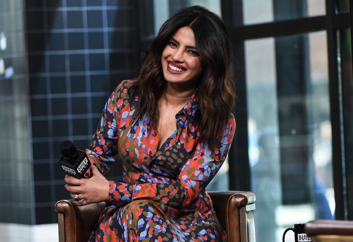 Priyanka Chopra visits Build Series on April 26, 2018.