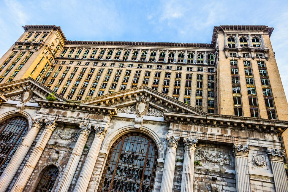 Michigan Central Station in Detroit.