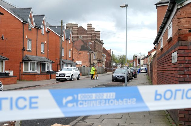 Ettington Road in Aston, Birmingham where Friday's incident took