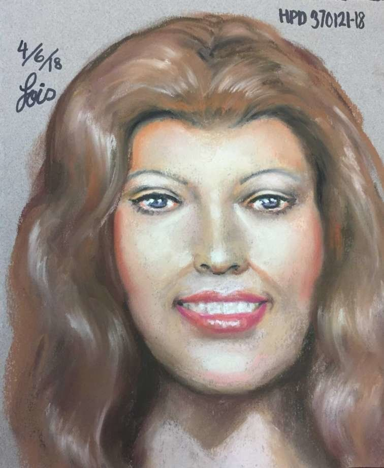 An artist rendering of what the female victim in Texas might have looked like.