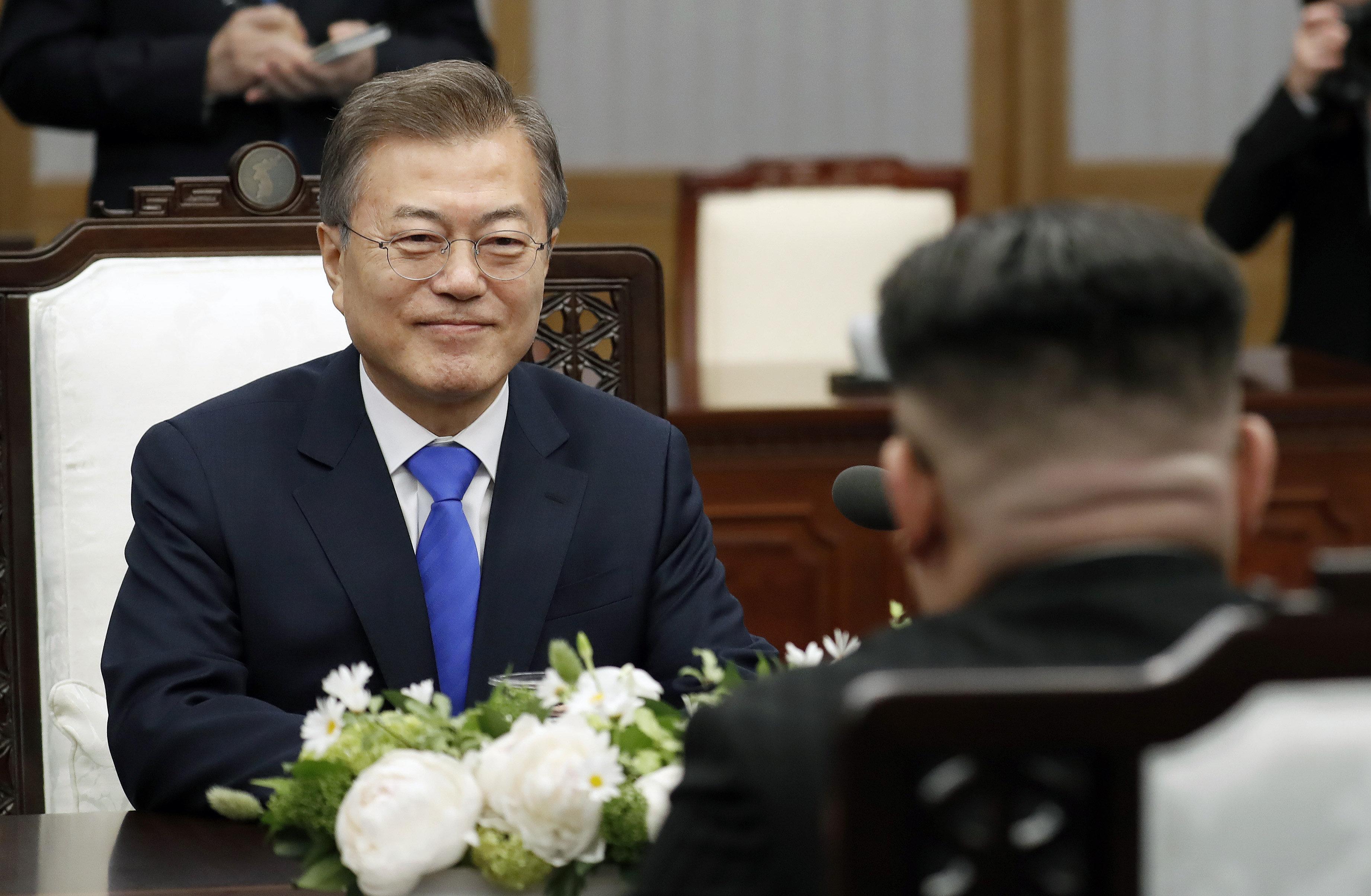 문대통령이 남북정상회담 소감을 밝혔다