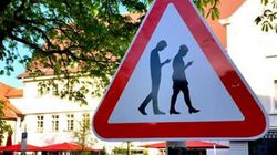 Reutlingen: Ein neues Straßenschild zeigt, wie tief unsere Gesellschaft gesunken