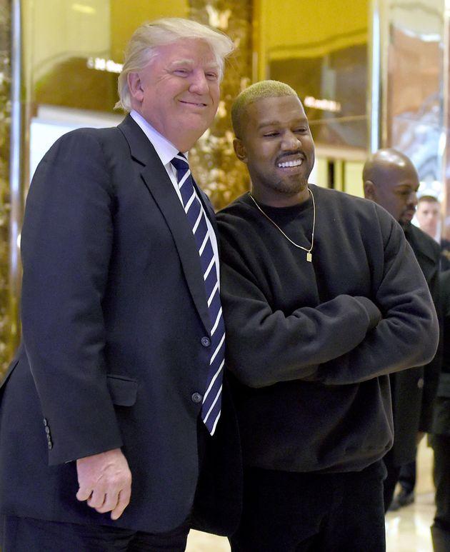Donald Trump and Kanye