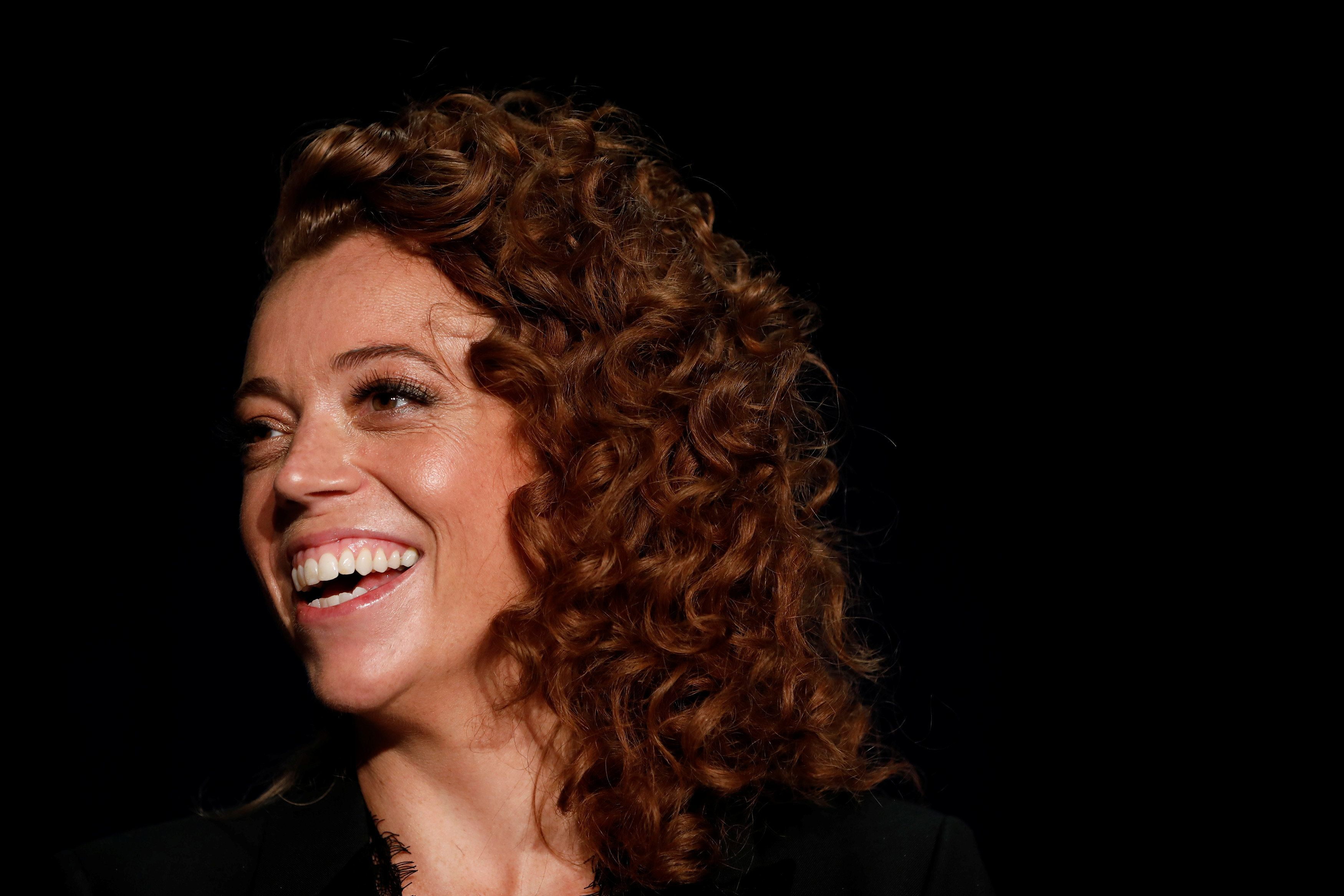 Comedian Michelle Wolf is seen at the White House Correspondents' Association dinner in Washington, U.S., April 28, 2018. REUTERS/Aaron P. Bernstein