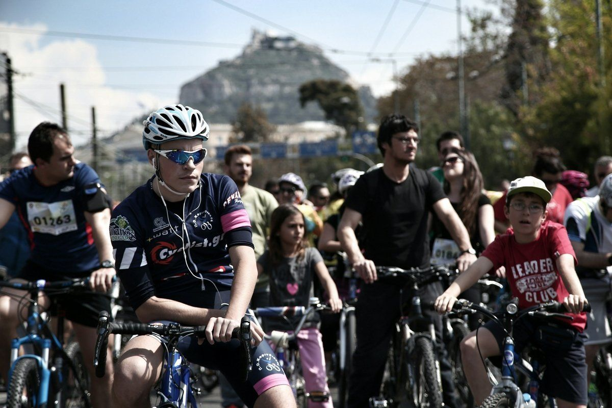 Ποιοι δρόμοι είναι «κλειστοί» και μέχρι ποια ώρα στο κέντρο της Αθήνας για τον «25ο Ποδηλατικό