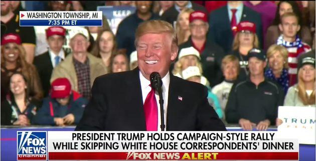 사람들이 '노벨상'을 외치자, 트럼프의 표정이 여러 단계로