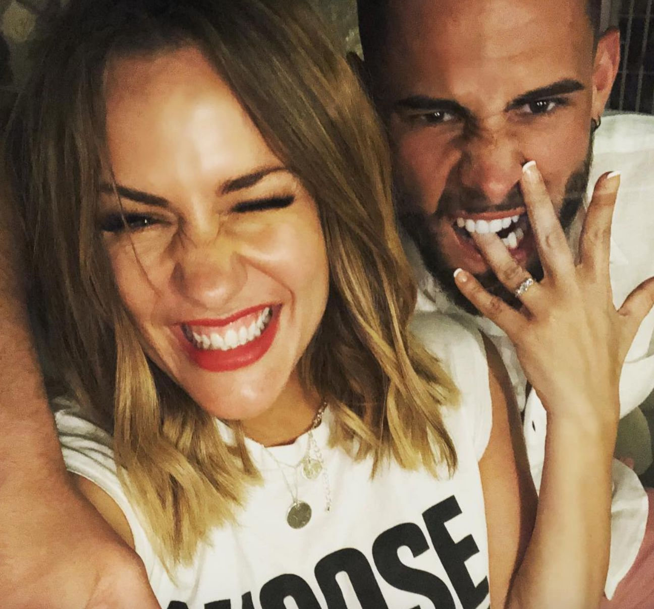 Caroline Flack Engaged To Reality TV Star Andrew Brady After Three Months Of