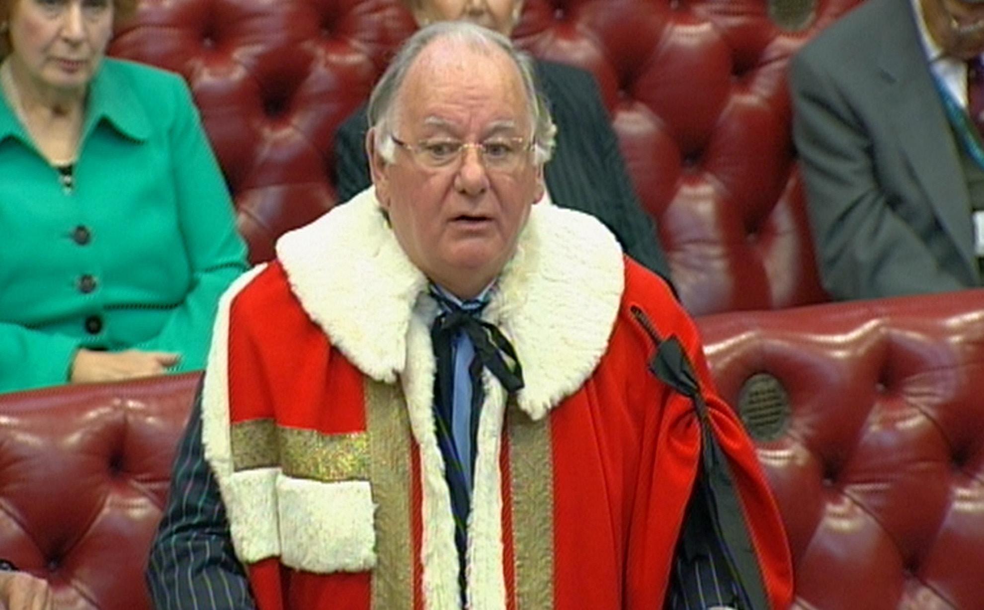 Former speaker Lord Martin dies aged 72
