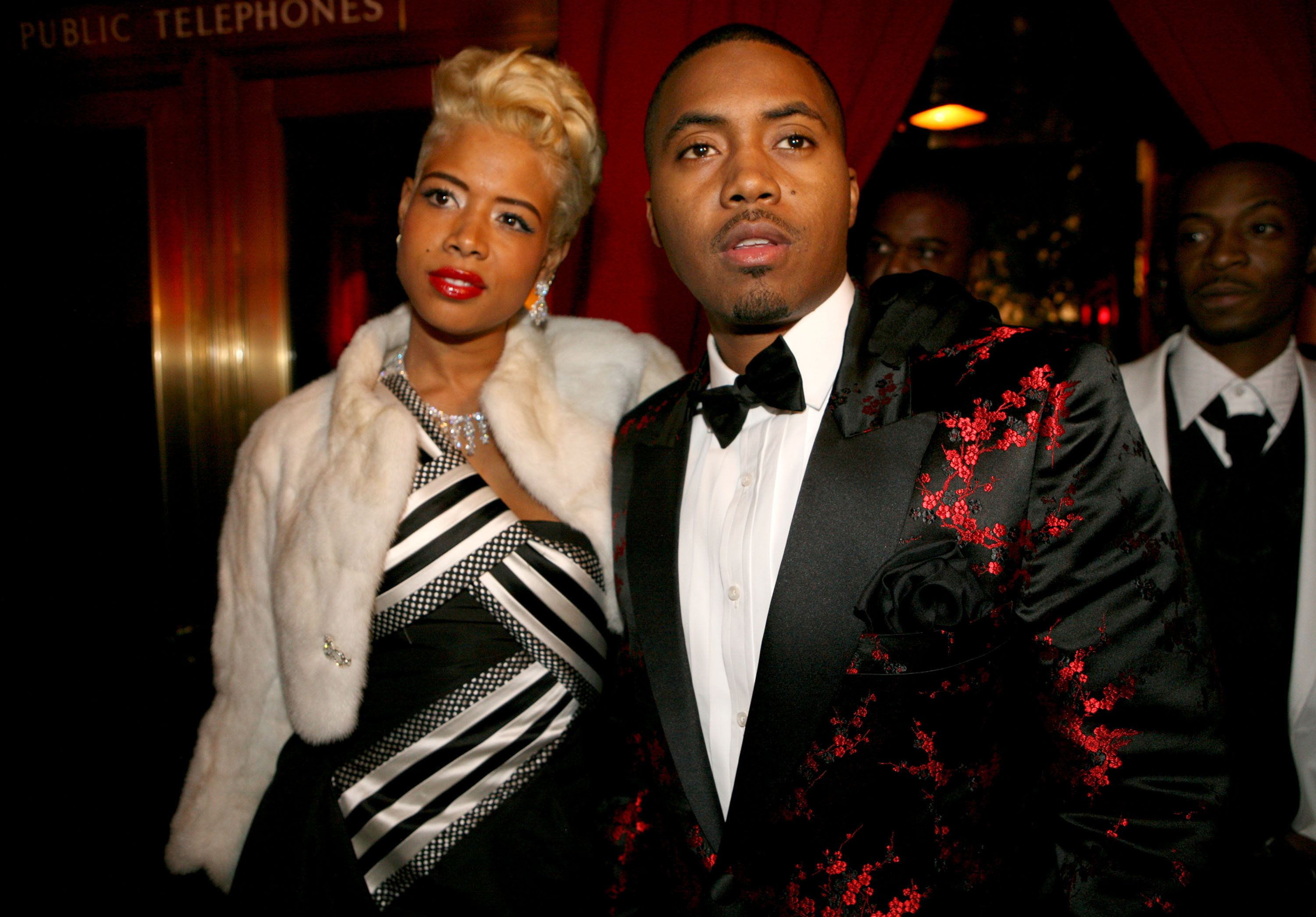 Kelis and Nas during Nas Celebrates His New Album 'Hip Hop is Dead' at His Black & White Ball - December 18, 2006 at Capitale in New York City, New York, United States. (Photo by Shareif Ziyadat/FilmMagic)