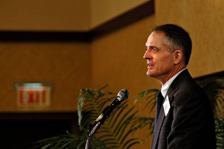 Jared Taylor at the 2006 American Renaissance conference.