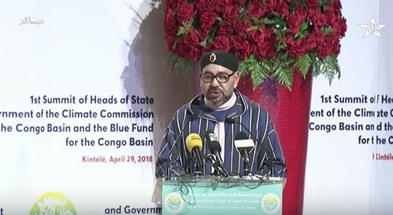 À Brazzaville, le roi Mohammed VI appelle à un réveil des consciences écologiques en Afrique (DISCOURS