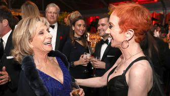 NBC News & MSNBC White House Correspondents? Dinner After Party On the grounds of the Organization of American States, Washington D.C. - Saturday, April 28, 2018 -- Pictured: Andrea Mitchell, Kathy Griffin -- (Photo by: Graeme Jennings/NBC News/MSNBC/NBCU Photo Bank via Getty Images)