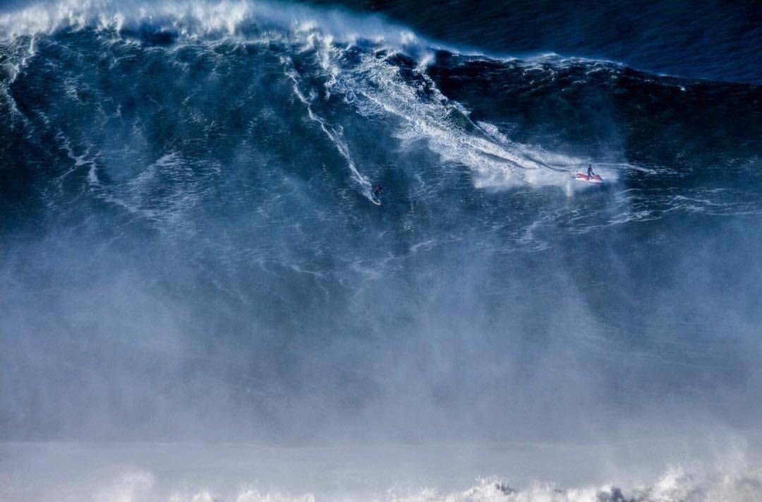Cowabunga! Brazilian Rodrigo Koxa Breaks World Record Surfing 80-Foot