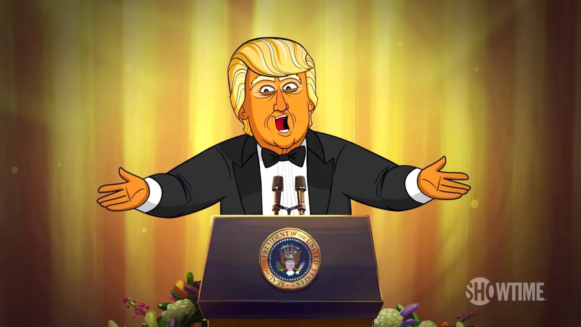 Cartoon Trump