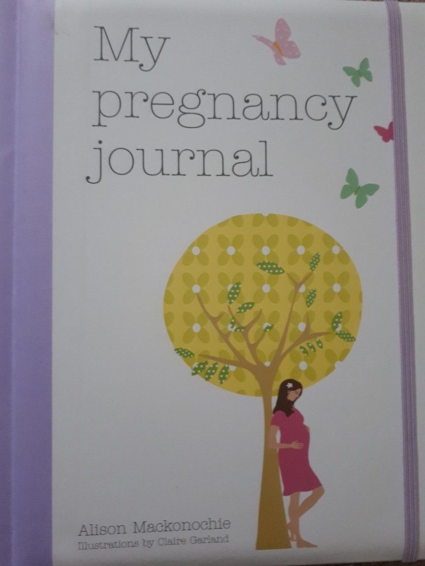 One of Lucie Rawlins' pregnancy journals.