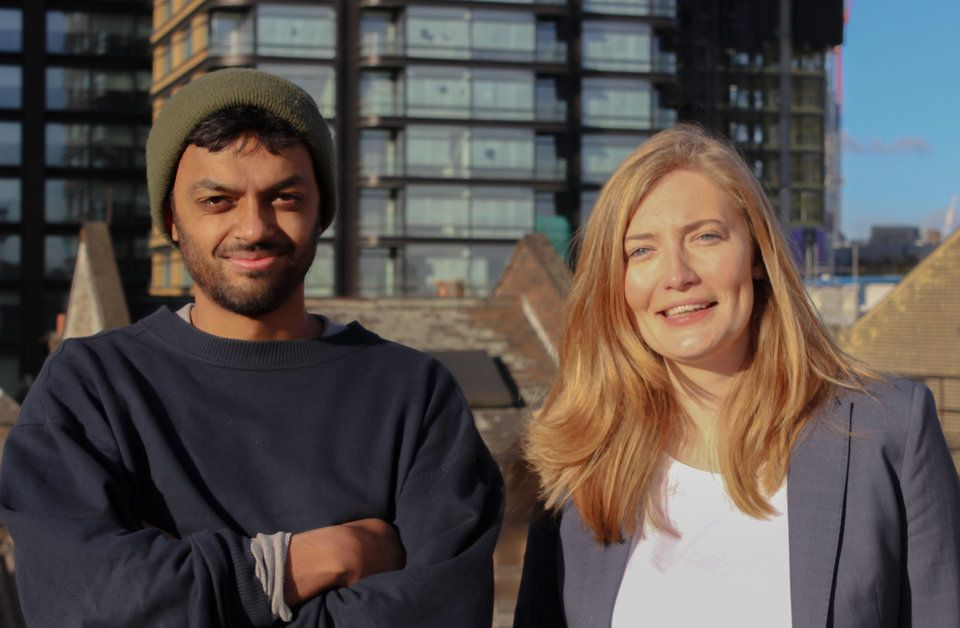 Organise campaigner Usman Mohammed and founder Nat Whalley are using technology to help workers address their conce