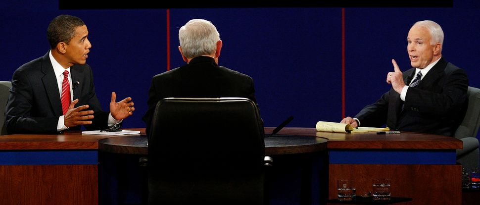 Sen. John McCain (R-Ariz.) turned ACORN into an enemy during his final presidential debate with Barack Obama in 2008.