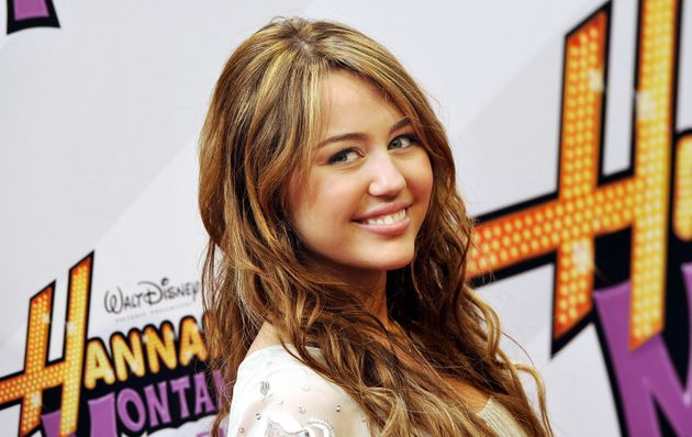 Miley Cyrus at the premiere of