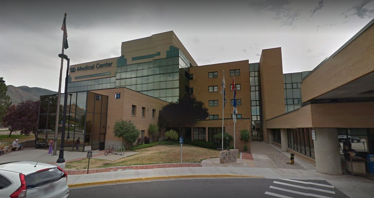 The photos were reportedly taken inside of the George E Wahlen Department of Veteran Affairs Medical Center in Salt Lake City