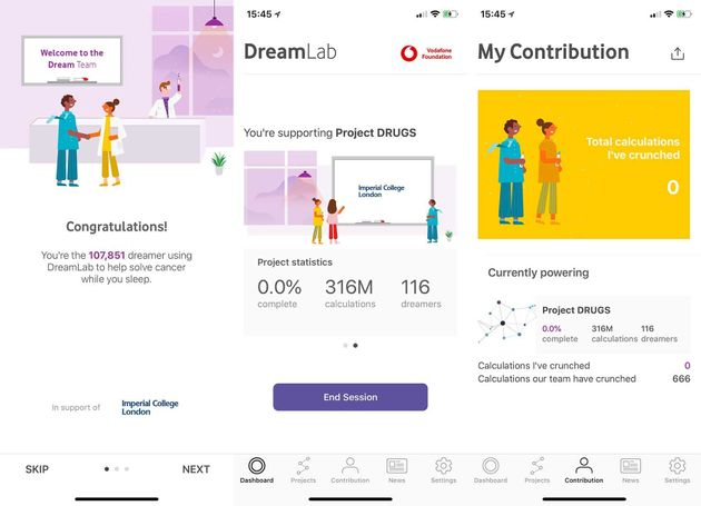 DreamLab App Lets You Fight Cancer By Plugging Your Phone In