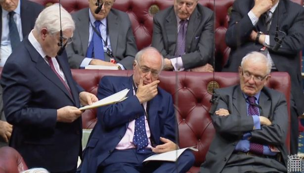 Lord Lamont, Lord Howard and Lord