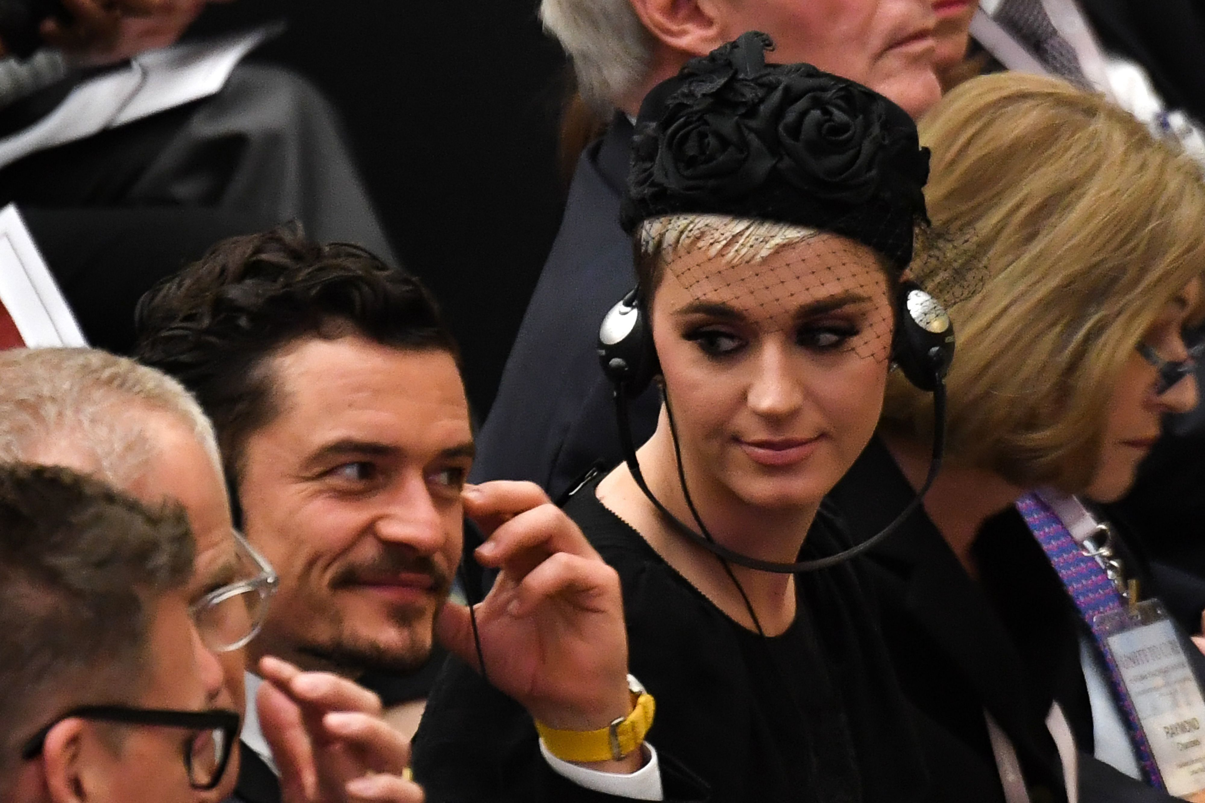 Katy Perry Meets Pope Francis, Speaks At Vatican