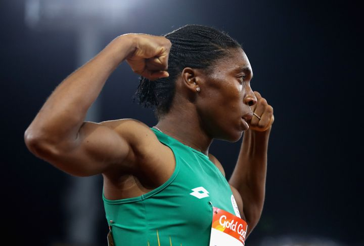 Supporters of South Africa's Caster Semenya, a two-time Olympic gold medalist, say she has been unfairly targeted new rules a