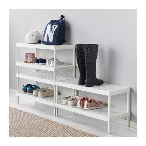 """Use one or several of these shoe racks to <a href=""""https://www.ikea.com/us/en/catalog/products/20336233/"""" target=""""_blank"""">cre"""