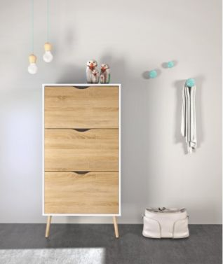 """If you're looking for a more stylish solution to shoe storage, this <a href=""""https://jet.com/product/detail/633069c1592b485eb"""