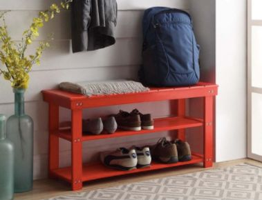 """This <a href=""""https://jet.com/product/Convenience-Concepts-Designs4Comfort-Utility-Mudroom-Bench/d7d30f51000f47f1bf06219c4629"""