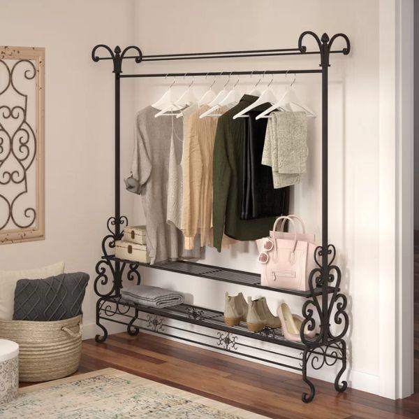 "Get it at <a href=""https://www.wayfair.com/storage-organization/pdp/lark-manor-4025-w-mouron-garment-rack-lrkm2934.html"" targ"