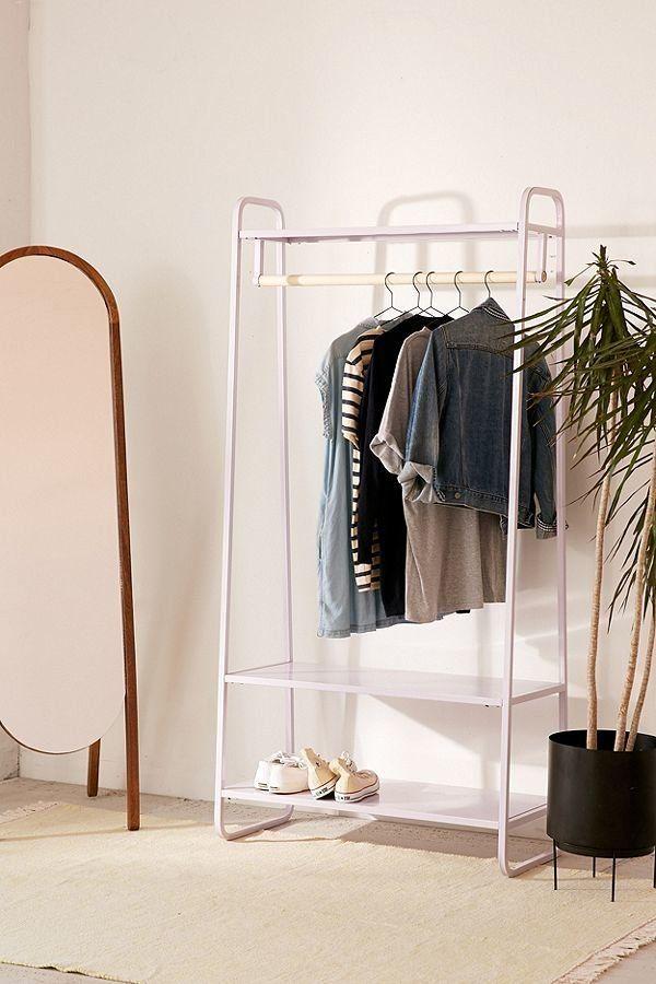 e9a2e309a93 15 Practical Clothing Racks With Shelves