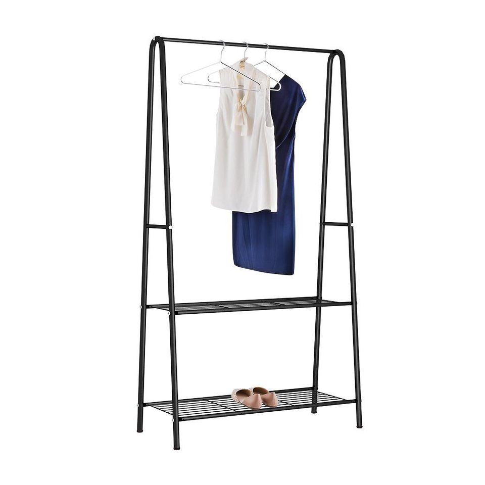 Clothing Racks With Shelves