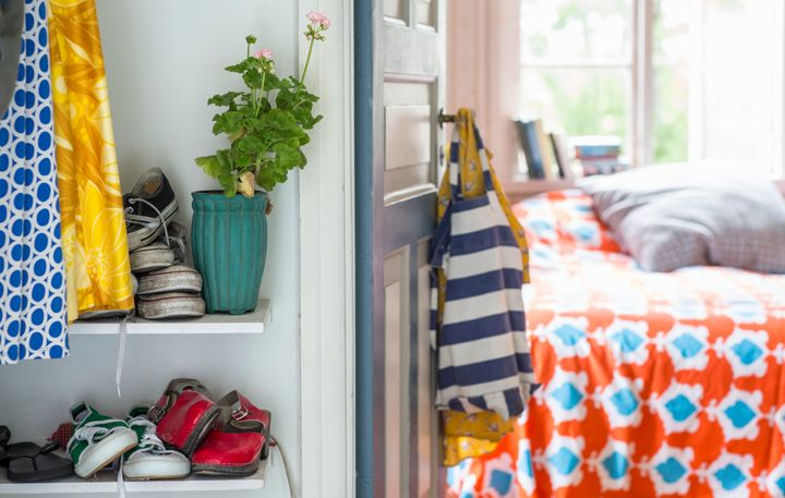 15 Smart Ways To Store Shoes In Small Spaces Huffpost Life