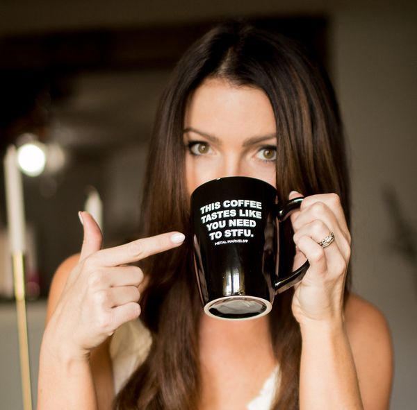 """Your mom may not be so talkative before she has her morning coffee. Luckily, <a href=""""https://metalmarvels.com/collections/al"""