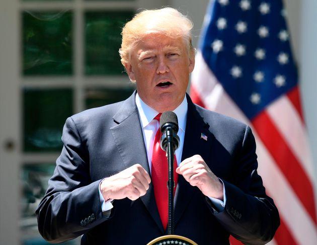홍준표가 '판문점 선언'을 비난하며 미국에 대한 의구심을