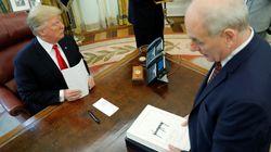 '트럼프는 멍청이' 험담했다는 백악관 비서실장이 짐을 싸게